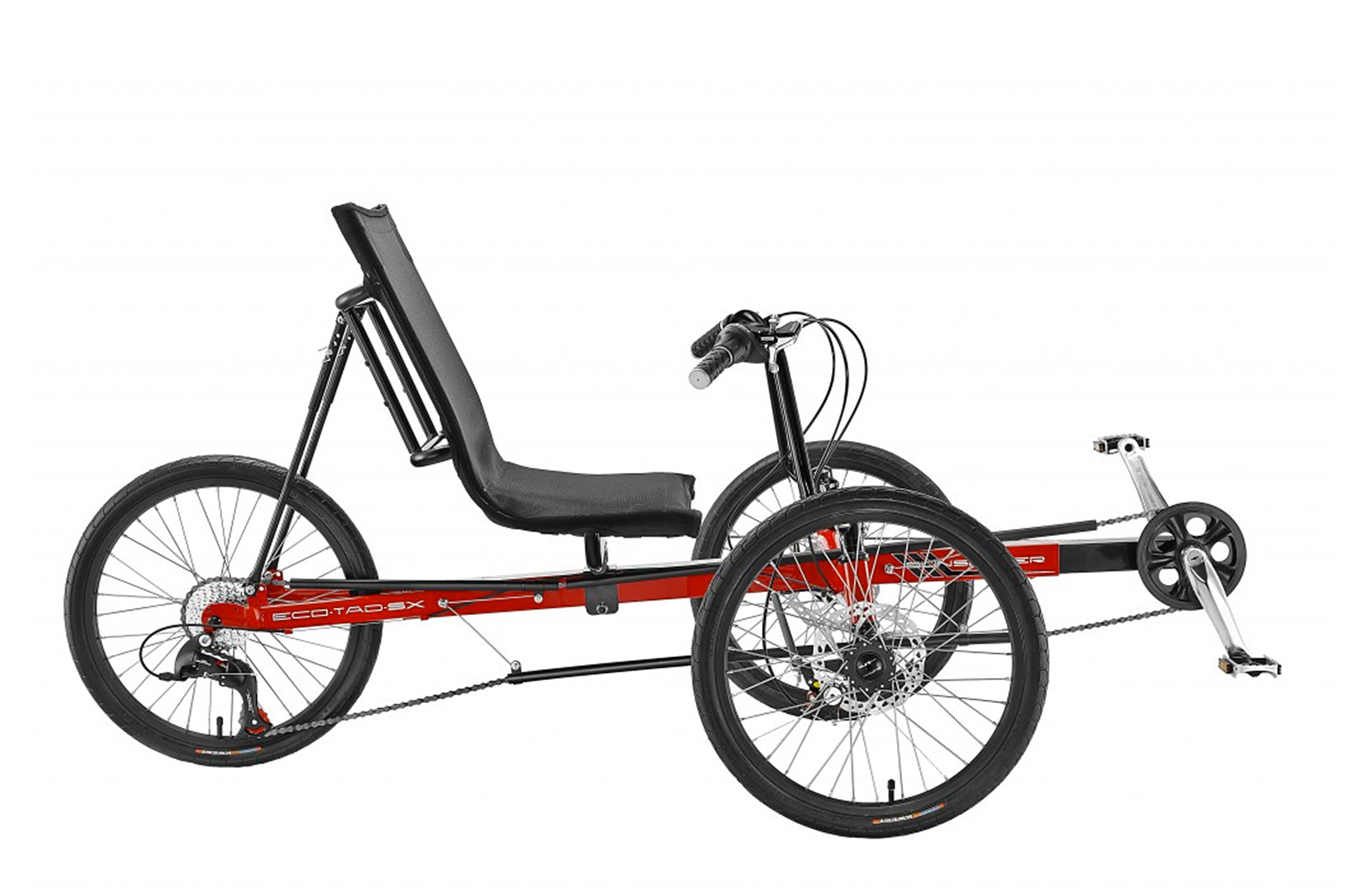 ECO-TAD SX Red Side View